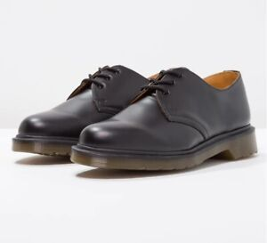 NEW-Dr-Martens-Men-039-s-1461-pw-Fashion-Black-Smooth-Airwairs-Leather-Boot-Shoes