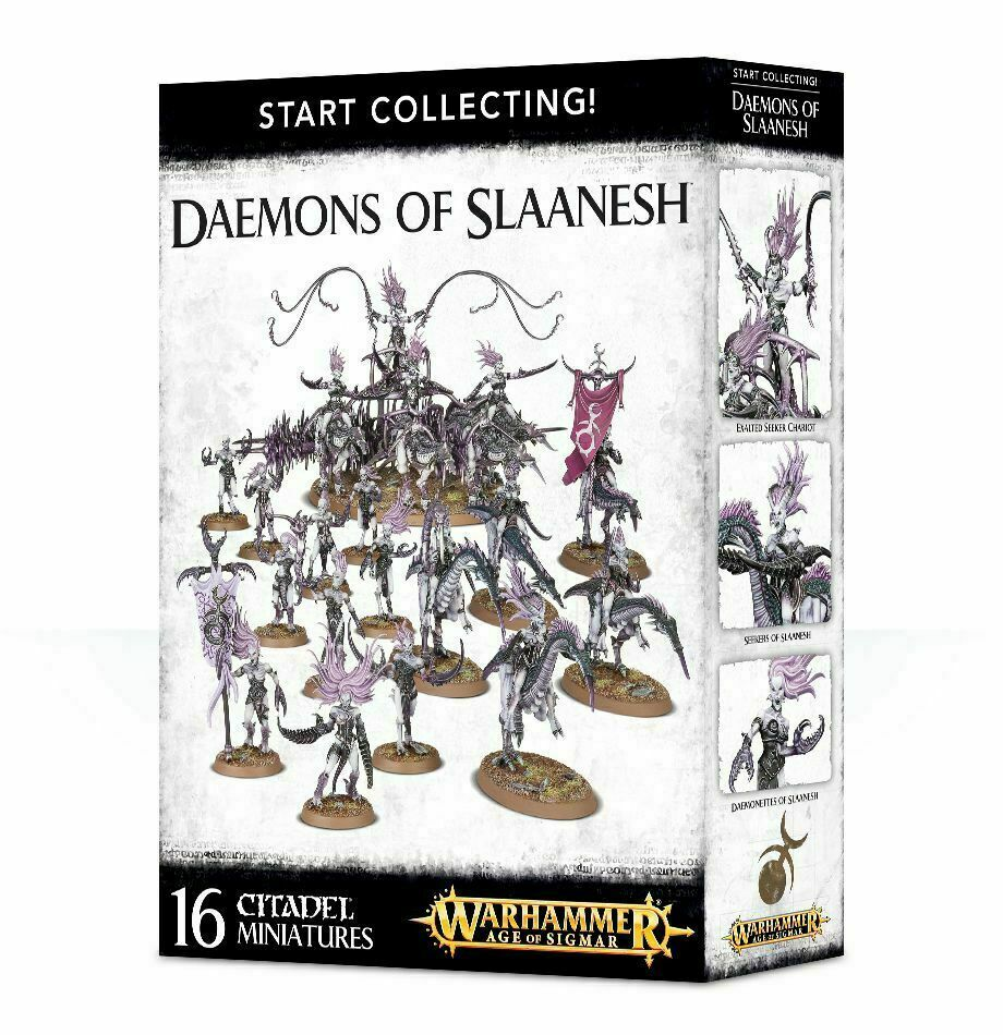Warhammer Age of Sigmar  Start Collecting  - Daemons of Slaanesh