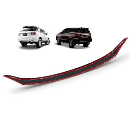 Front Bonnet Hood Line Cover Trim Black White For Toyota Fortuner 2016 2018