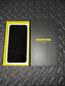Xiaomi Pocophone F1 - 64 GB-steel blue (unlocked)