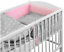 BABY-DIMPLE-BEDDING-SET-3-5-6-PILLOW-DUVET-PADDED-BUMPER-FIT-COTBED-140x70 thumbnail 9