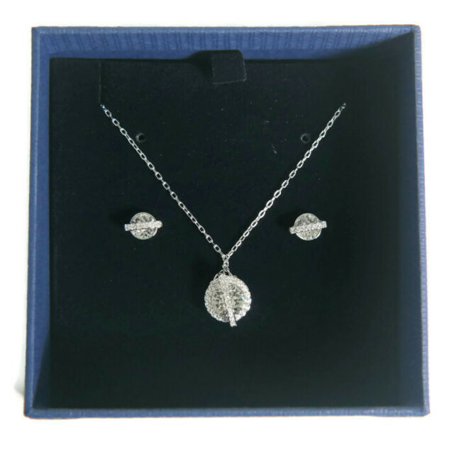 b94120996f707 Swarovski Crystal Favor Necklace and Earrings Set 5226391