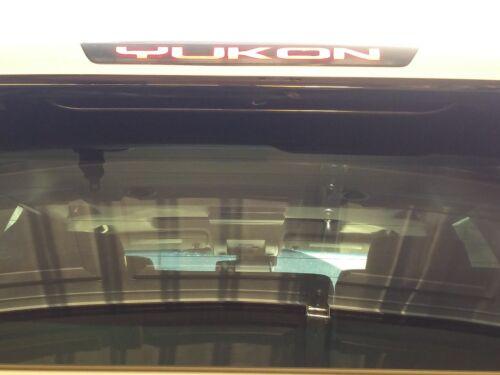 GMC Yukon 2015 2016 2017 2018 2019 3rd Brake Light Decal