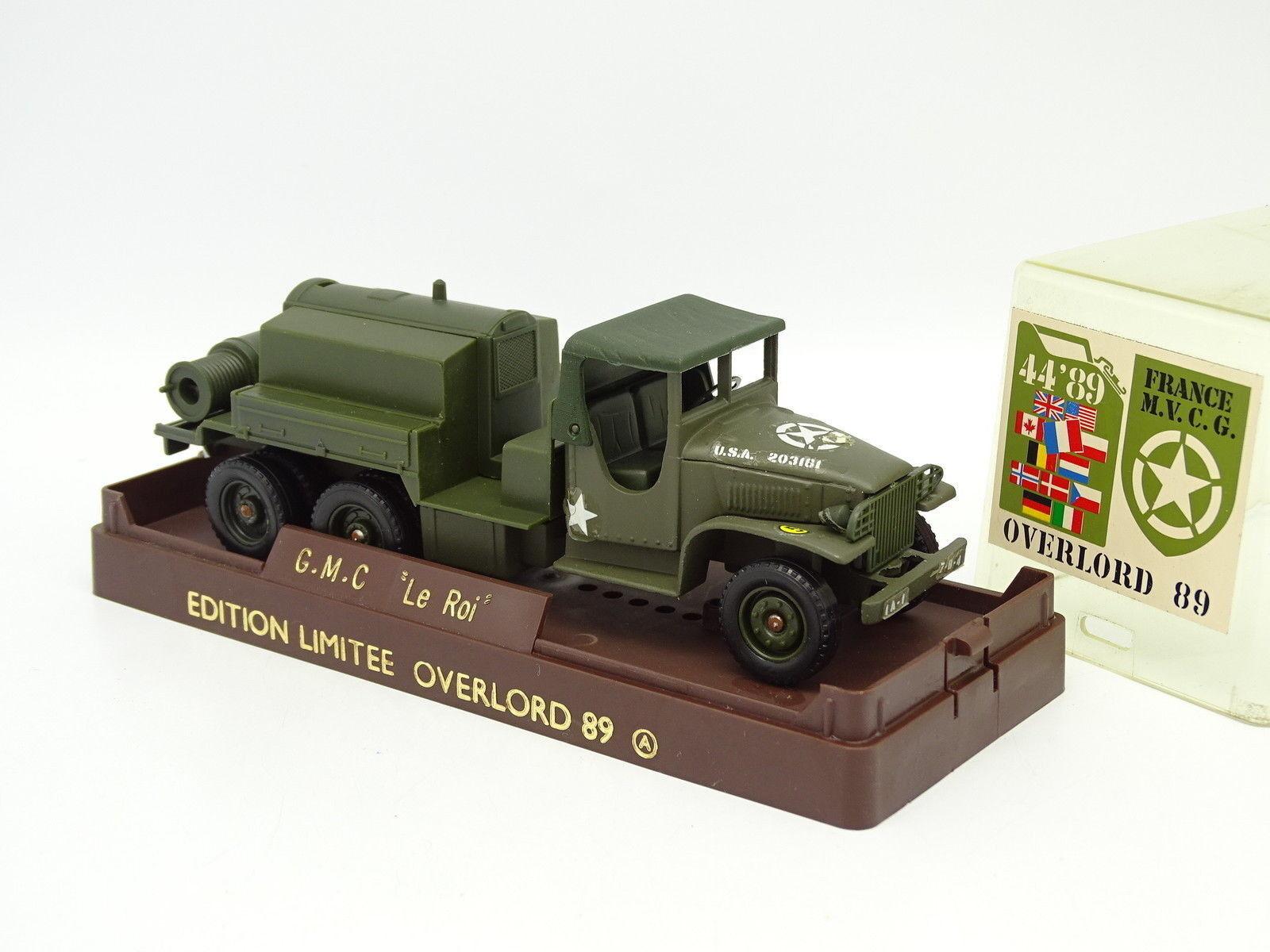 suministro directo de los fabricantes Solido Solido Solido Militar Ejército 1 50 - GMC Cisterna el Rey Overlord 1989  Obtén lo ultimo