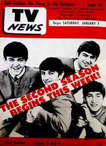 TV-Guide-1967-The-Beatles-Paul-John-George-Ringo-Regional-EX-NM-COA-Rare