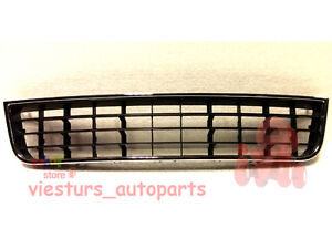 AUDI-A6-C5-4B-2001-2005-FRONT-BUMPER-GRILLE-GRILL-CENTER-MIDDLE-NEW