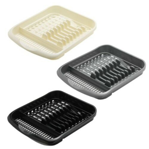 New Handy Dish Drainer Addis Plate Plastic Rack Keep your Dishes Neat and Tidy.