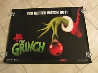 The Grinch Movie Poster Jim Carrey, Dr Seuss