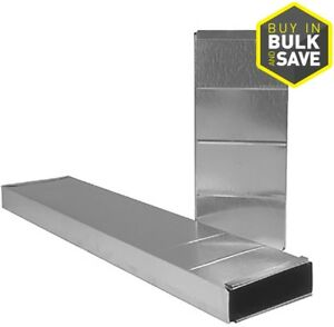 IMPERIAL-3-25-in-x-10-in-x-36-in-Galvanized-Steel-Stack-Duct-New