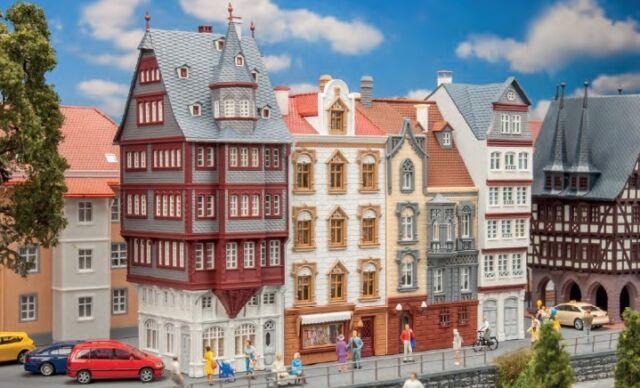 Faller H0 190063 Aktions-Set Altstadthäuser 4 St. NEU/OVP