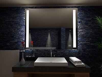 badspiegel paris mit led beleuchtung badezimmerspiegel bad spiegel wandspiegel ebay. Black Bedroom Furniture Sets. Home Design Ideas