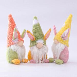 Easter Bunny Gnomes Scandinavian Faceless Gnome Bunny Dwarf