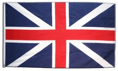 Fahne Großbritannien Union Jack Blau Flagge blaue britische Hissflagge 90x150cm