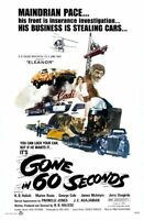 Gone In 60 Seconds Movie Poster 24inx36in