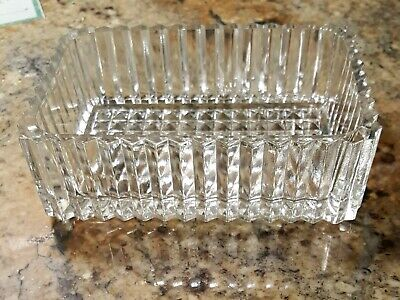 It will add glamour to any occasion A vintage 1930s berry dish diamond pressed glass with a lustre ruby band Priced per dish.