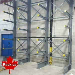 Regular Duty Structural Cantilever Racking - In Stock Ready For Quick Ship to Kitchener Area Kitchener Area Preview