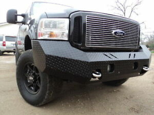 2006 Ford F250 Front Bumper >> Details About New Ranch Style Front Bumper 05 06 07 Ford F250 F350 2005 2006 2007 Super Duty