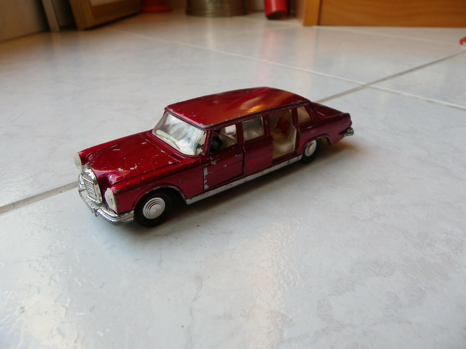 Mercedes 600 Ref 128 W100 Dinky Toys Meccano 1 43 toy miniature old