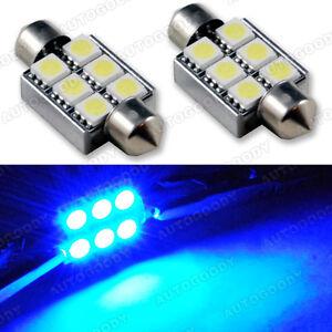 2 x 3W 36MM Fastoon LED bulb Canbus Error Free 6418 1036 3175 6461