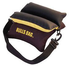 "BULLS BAG #16012-Field Black-Gold/Tuff-Tec 10"" Shooting Rest (Unfilled)"