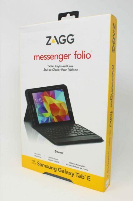 low priced 0b623 5eccf ZAGG Messenger Folio Case With Bluetooth Keyboard for Samsung Galaxy Tab E  9.7