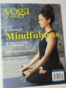 yoga journal magazine the power of mindfulness special