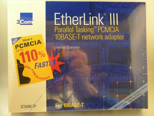 3COM ETHERLINK III LAN PC CARD (3C589) (ETHERNET) WINDOWS 8 DRIVERS DOWNLOAD (2019)