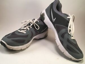 5bf0dd65baf1a Details about Nike Max Run Lite 5 gray black running Men's sneakers 8.5M  shoes (R)