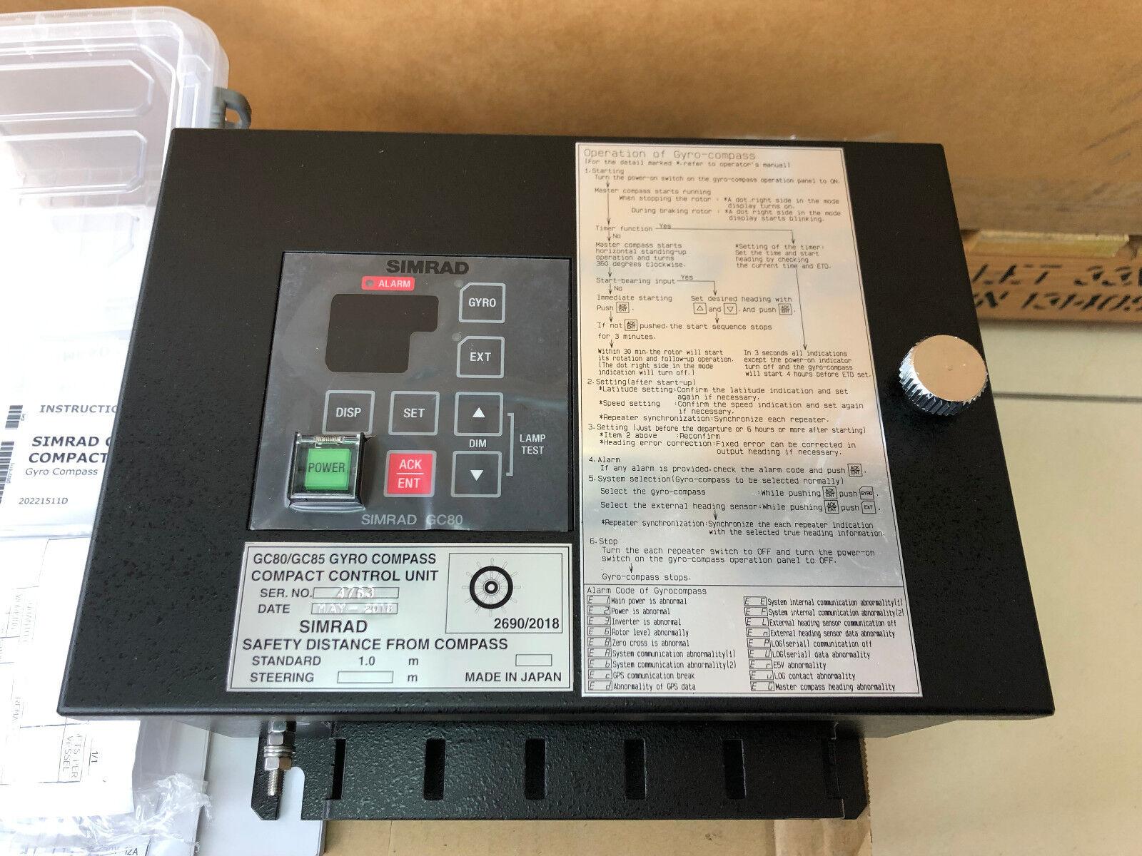 SIMRAD GC80 GC85 Compact Control Unit
