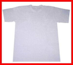 Plain white blank t shirt sublimation printing tshirts for Plain t shirts to print on