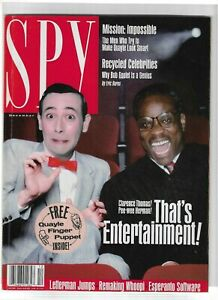 Vintage-Magazine-SPY-December-1991-Pee-Wee-Herman-amp-Clarence-Thomas-Cover