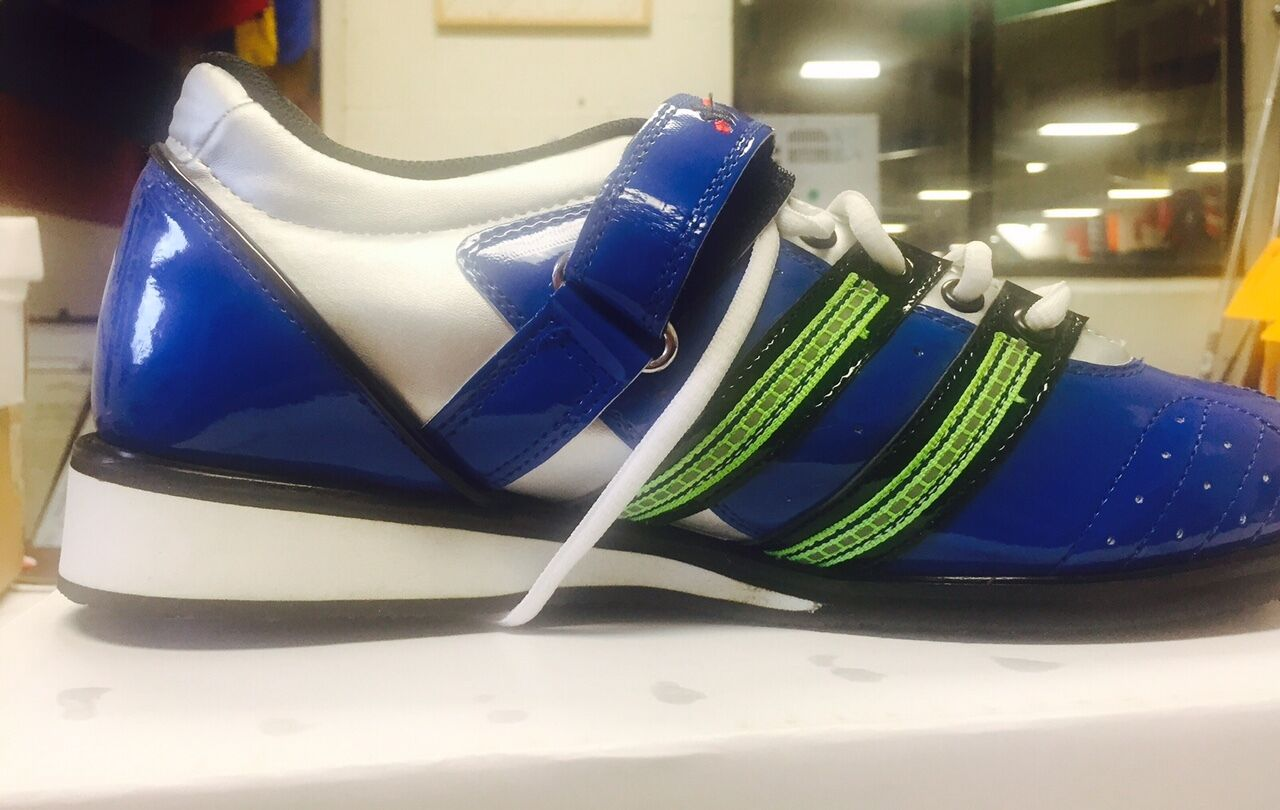 Weightlifting Shoes - Blue size 8 8 8 cb19d7