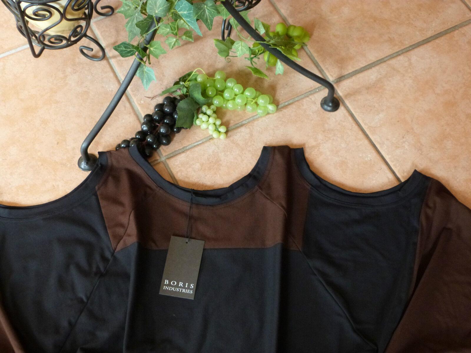 BORIS INDUSTRIES Zipfel Tunika Überwurf 46-58 46-58 46-58 EG NEU  schwarz braun LAGENLOOK | Haltbarkeit  75ada5