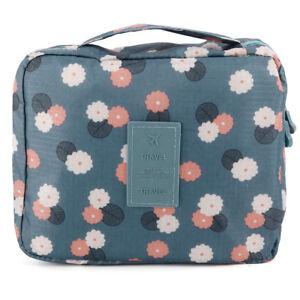 9a405fffa La imagen se está cargando Neceser-Organizador-para-viaje-Bolsa-para- Cosmetico-Maquillaje-