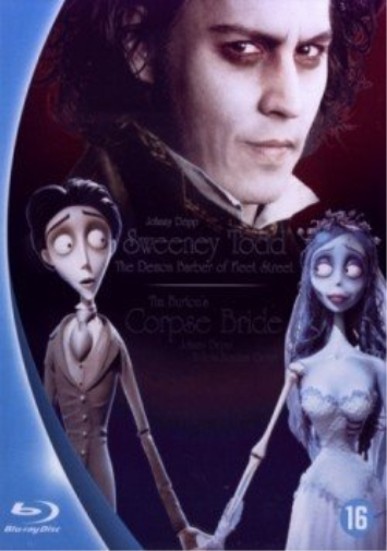 Johnny Depp Collection ( Sweeney Todd / Les Noces Funebr (US IMPORT) Blu-Ray NEW