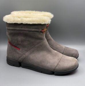 Ladies D Iglu Nubuck 4 Trigenic Grey Warm Ankle Uk Boots Clarks Nuevo tri fxFREE