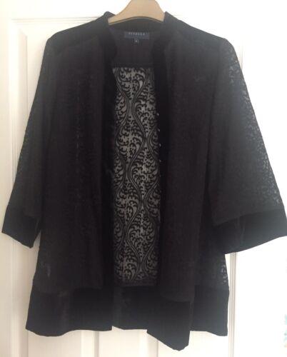 Viyella 8 Kimono Size Velvet Style Jacket q65qr
