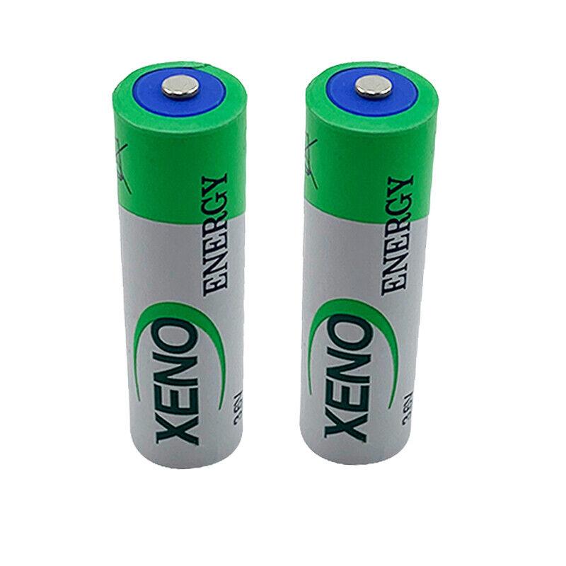 2X Xeno Energy XL-060F For ER14500 Battery AA 3.6V LS14500 ER6V Lithium Battery