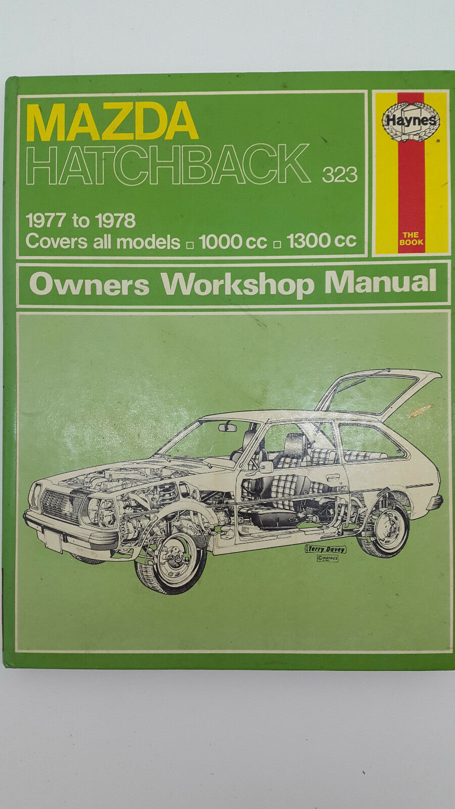 Haynes No 370 Mazda Hatchback 323 1977 – 1978 Workshop Manual