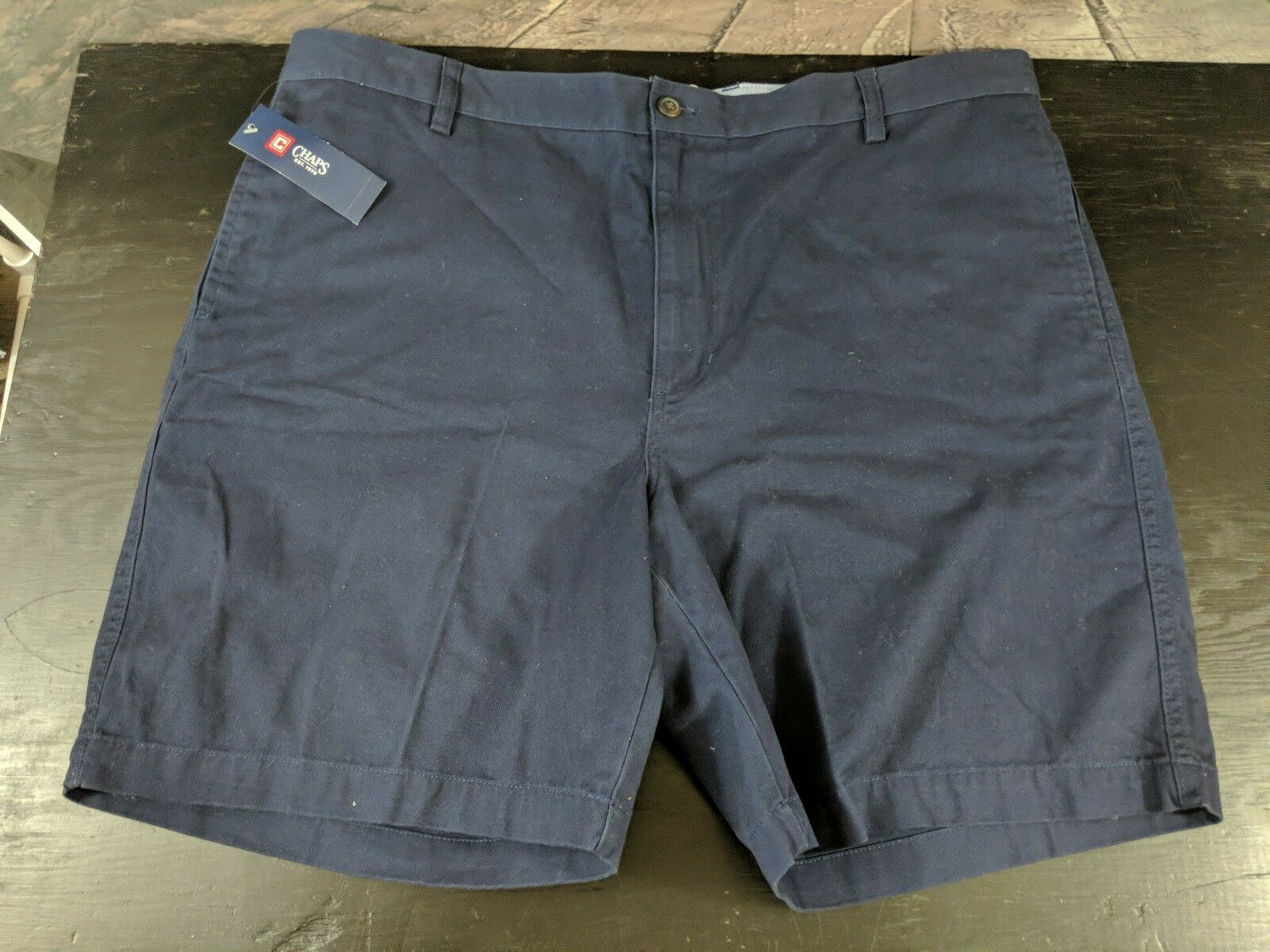 Champs Men's Shorts bluee Classic Casual Flat Front. Size 42 B13