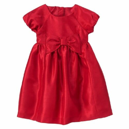 Gymboree Very Merry Red Dress Holiday New NWT Girls 4T Bow