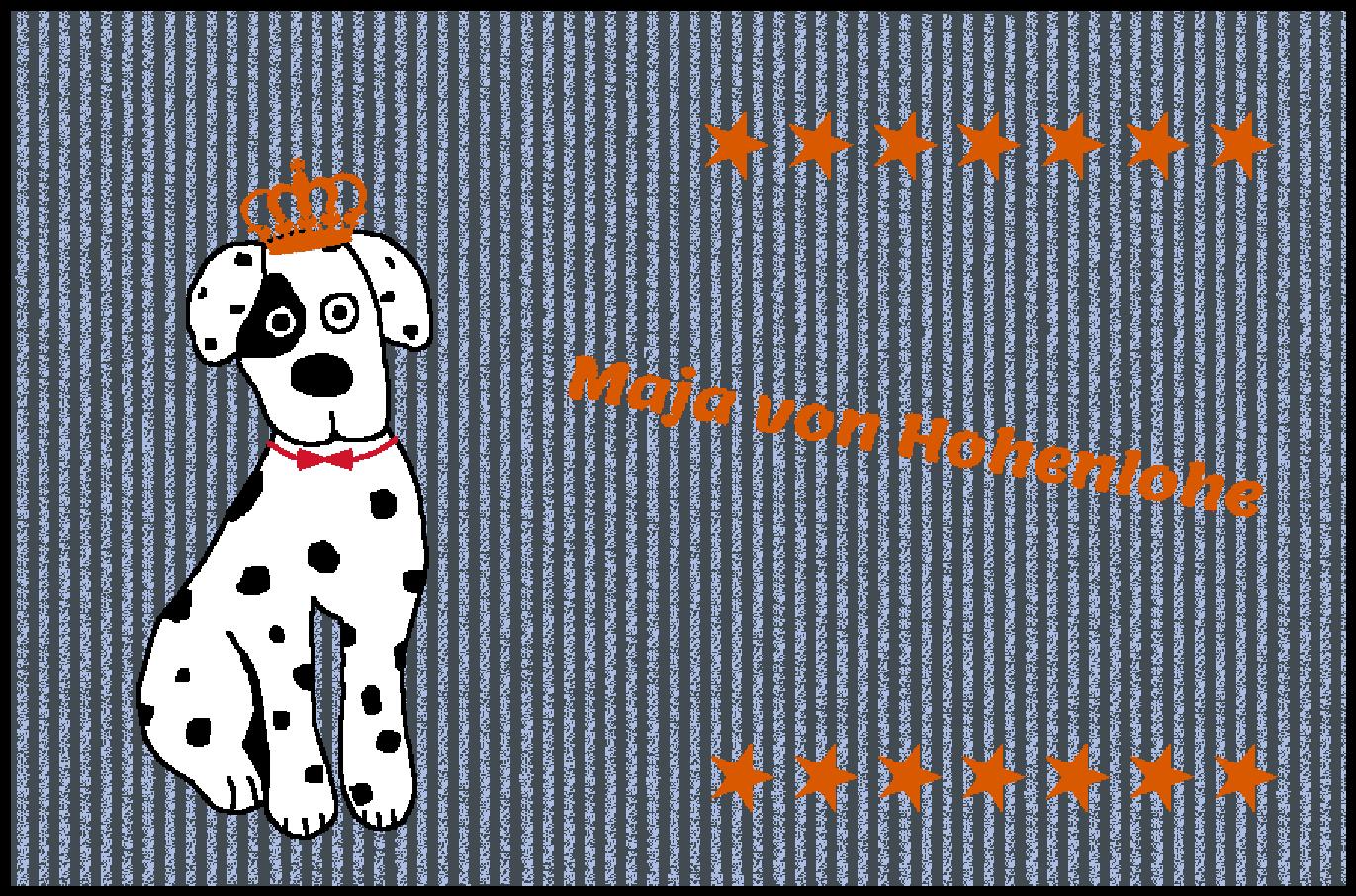 Fußmatte mit Namen Napfunterlage Hundematte    90x60 cm  Design 27180131    Sehr gelobt und vom Publikum der Verbraucher geschätzt  2ef797