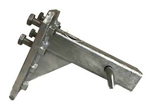 Galvanized-Adjustable-Pintle-Hitch-Receiver-Towing-Accessory