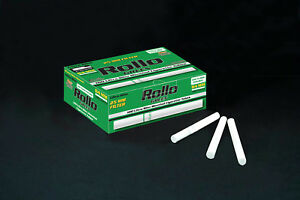 NEW-25mm-500-ROLLO-MENTHOL-GREEN-ULTRA-SLIM-Tobbacco-Cigarrette-filter-tubes