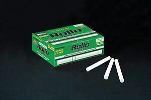 NEW 25mm 500 ROLLO MENTHOL GREEN ULTRA SLIM Tobacco Cigarette filter tubes