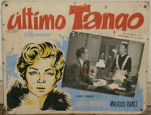 SARA-SARITA-MONTIEL-MI-ULTIMO-TANGO-TANGO-CARTEL-DE-CINE-60-039-s-CARToN-PORTUGAL