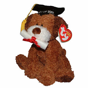 Ty Beanie Baby Honor Roll - MWMT (Dog Graduation Internet Exclusive 2007)