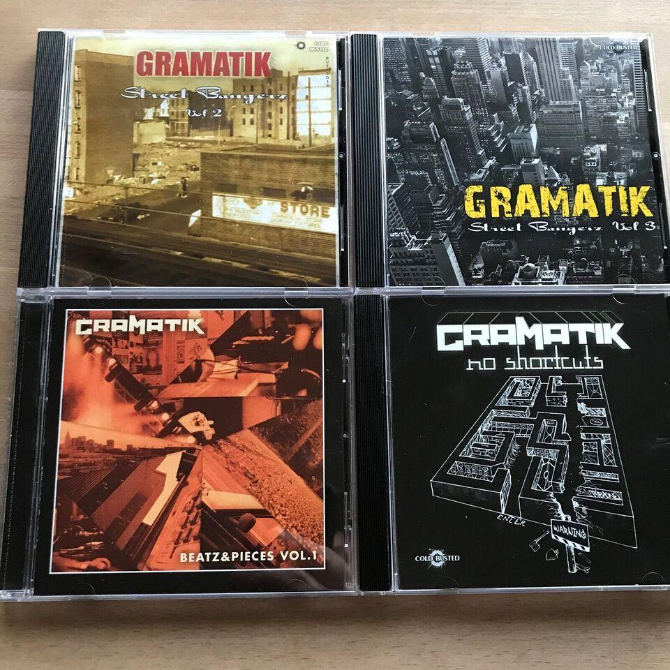 Gramatik: 4 CD, hiphop