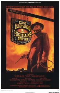 HIGH-PLAINS-DRIFTER-11x17-Movie-Poster-Licensed-New-USA-A