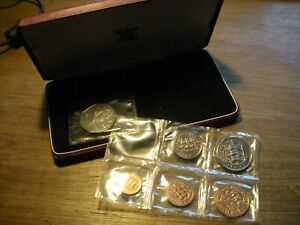 50th Birthday Present, 1971 set of 6 Sealed Guernsey Proof coins Cased, 50 years